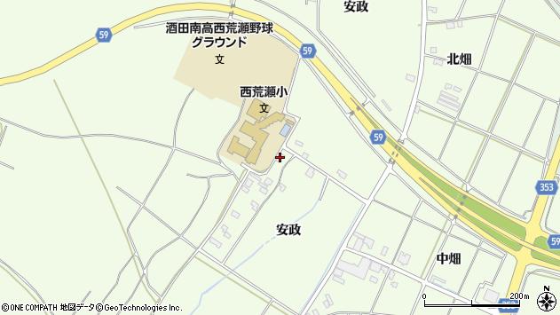 山形県酒田市宮海安政231周辺の地図