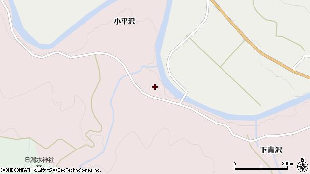山形県酒田市下青沢日潟164周辺の地図