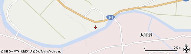 山形県酒田市大蕨前田2周辺の地図