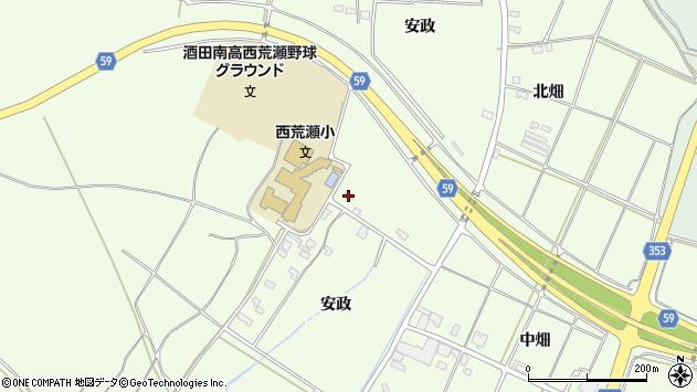 山形県酒田市宮海安政228周辺の地図