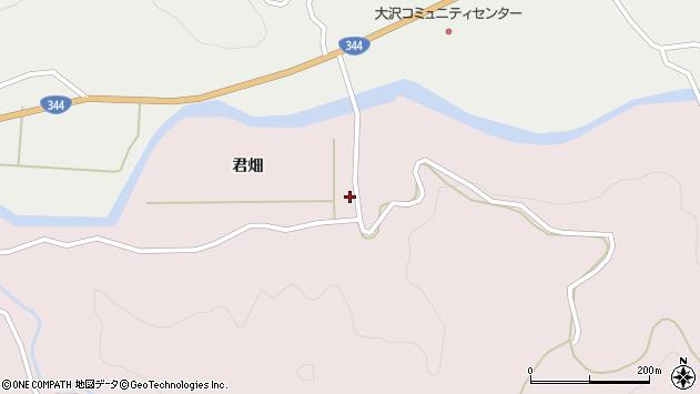 山形県酒田市下青沢君畑129周辺の地図