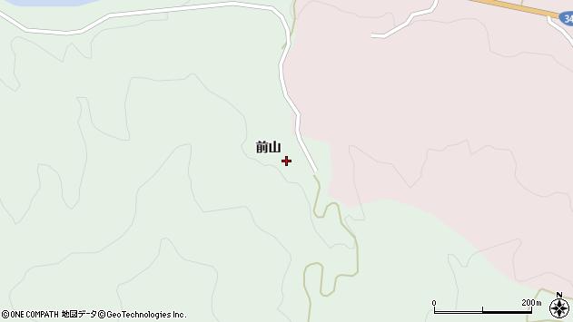 山形県酒田市常禅寺前山163周辺の地図