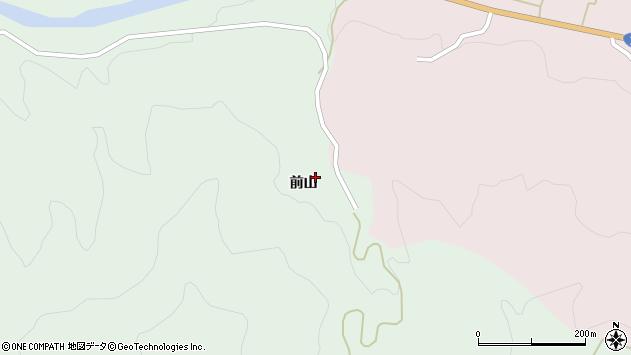 山形県酒田市常禅寺前山158周辺の地図