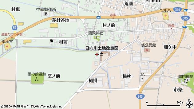 山形県酒田市法連寺村前91周辺の地図