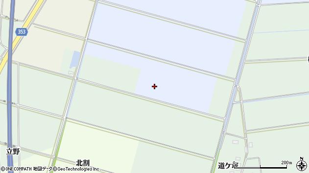 山形県酒田市本楯切添周辺の地図