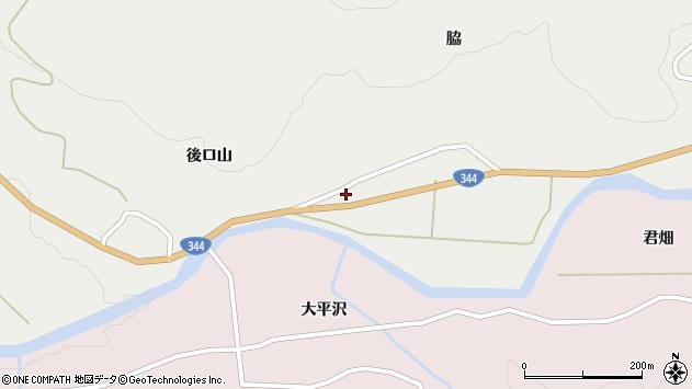 山形県酒田市大蕨脇85周辺の地図