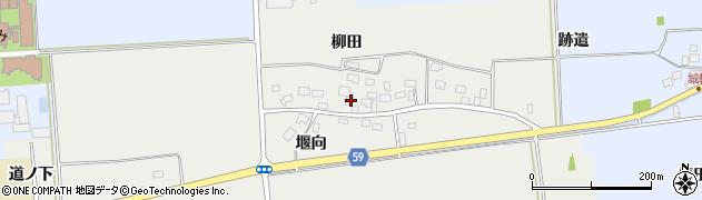 山形県酒田市豊原柳田10周辺の地図