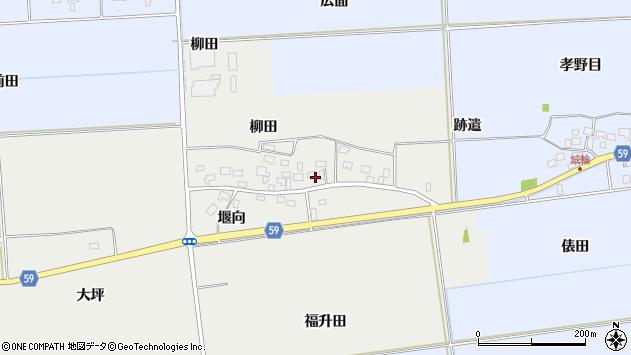 山形県酒田市豊原福升田30周辺の地図