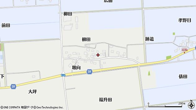 山形県酒田市豊原福升田31周辺の地図