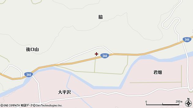 山形県酒田市大蕨脇27周辺の地図