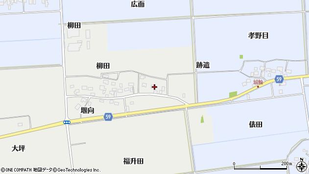 山形県酒田市豊原福升田27周辺の地図