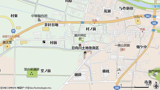 山形県酒田市法連寺村前87周辺の地図