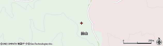 山形県酒田市常禅寺前山152周辺の地図