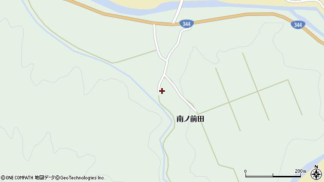 山形県酒田市上青沢姥ケ沢193周辺の地図