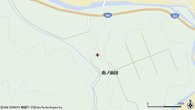 山形県酒田市上青沢姥ケ沢190周辺の地図