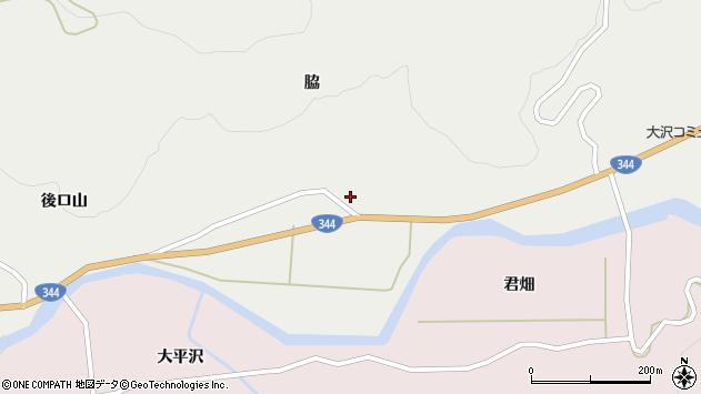 山形県酒田市大蕨脇65周辺の地図