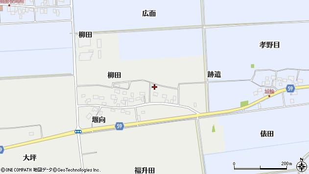 山形県酒田市豊原福升田40周辺の地図