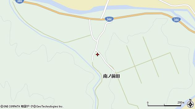 山形県酒田市上青沢姥ケ沢197周辺の地図