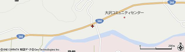 山形県酒田市大蕨下黒沢10周辺の地図