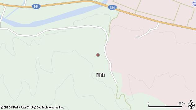 山形県酒田市常禅寺前山148周辺の地図