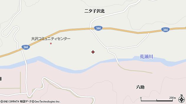 山形県酒田市大蕨二タ子112周辺の地図