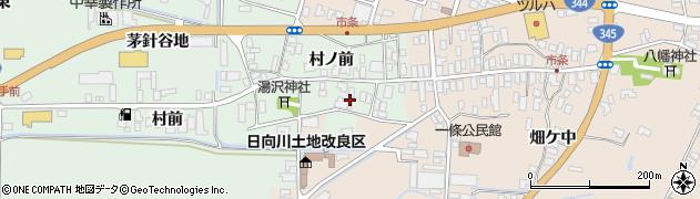 山形県酒田市法連寺村前30周辺の地図