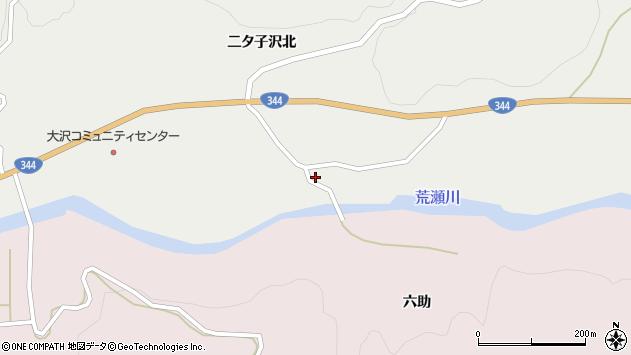 山形県酒田市大蕨二タ子118周辺の地図