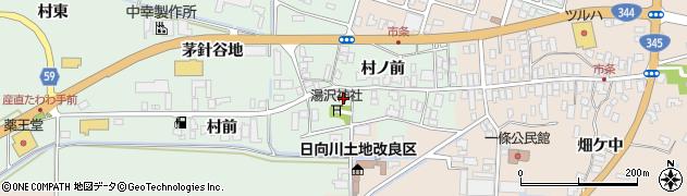 山形県酒田市法連寺村前61周辺の地図