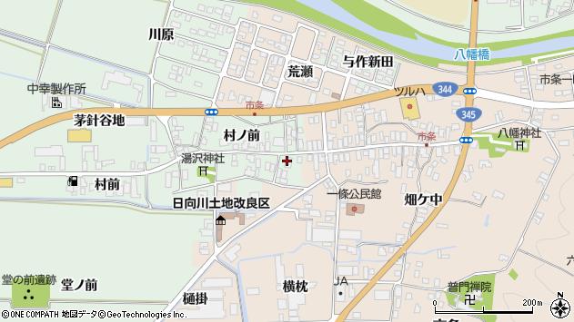 山形県酒田市法連寺村前35周辺の地図