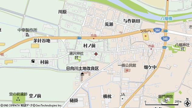 山形県酒田市法連寺村前31周辺の地図