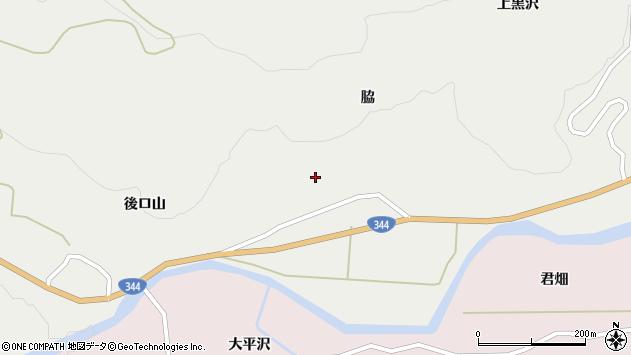 山形県酒田市大蕨脇70周辺の地図