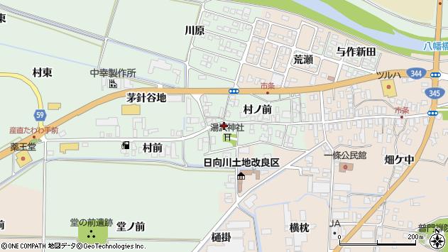 山形県酒田市法連寺村前16周辺の地図