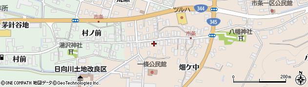 山形県酒田市市条水上33周辺の地図