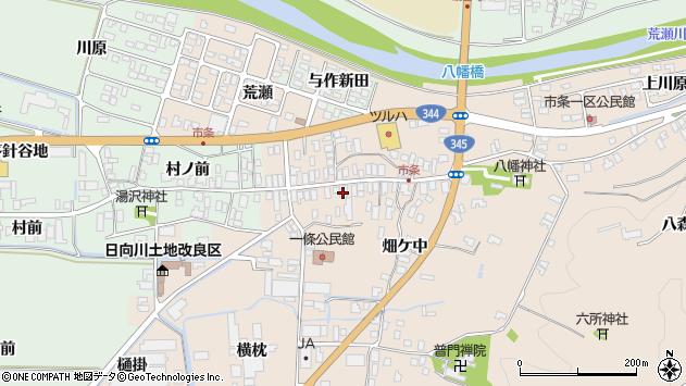 山形県酒田市市条水上31周辺の地図
