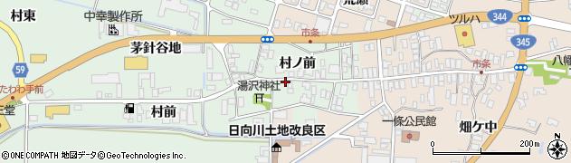 山形県酒田市法連寺村前19周辺の地図
