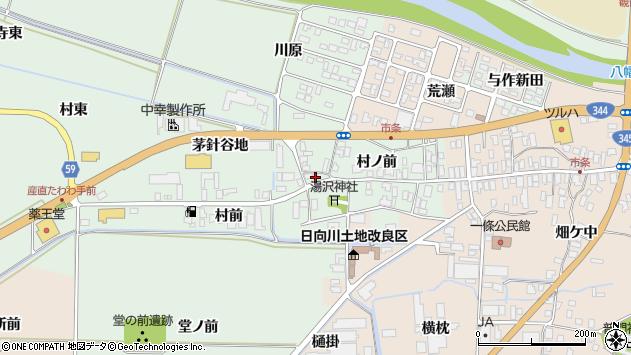 山形県酒田市法連寺茅針谷地2周辺の地図