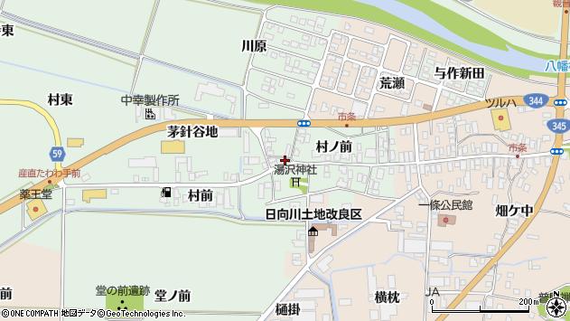 山形県酒田市法連寺茅針谷地1周辺の地図