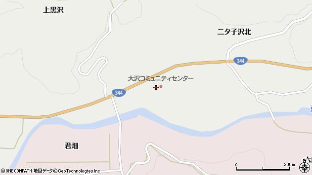 山形県酒田市大蕨二タ子213周辺の地図