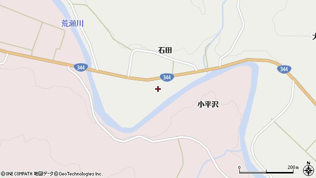 山形県酒田市大蕨石田前67周辺の地図