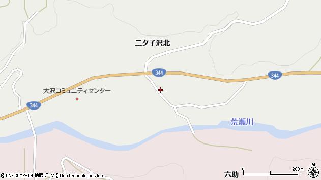 山形県酒田市大蕨二タ子107周辺の地図