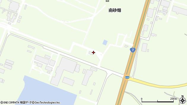 山形県酒田市宮海新林4周辺の地図