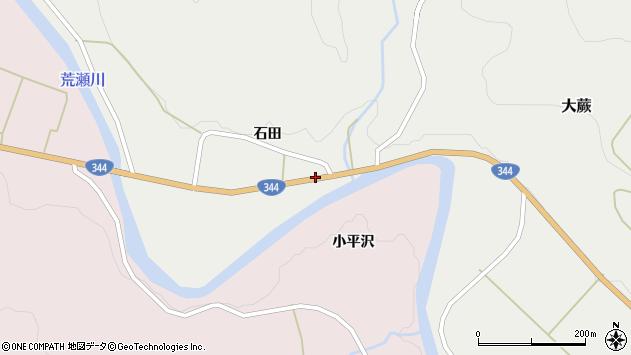 山形県酒田市大蕨石田前50周辺の地図