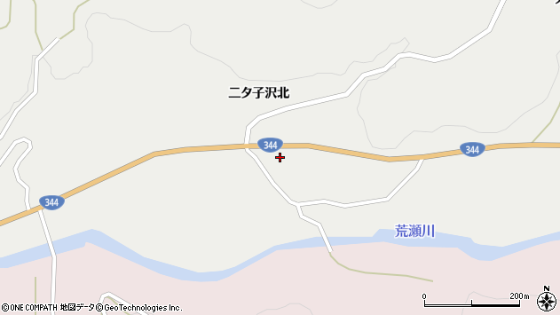 山形県酒田市大蕨二タ子96周辺の地図