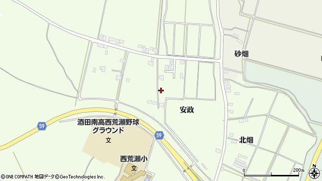 山形県酒田市宮海林内1周辺の地図
