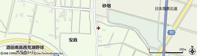 山形県酒田市藤塚北畑75周辺の地図