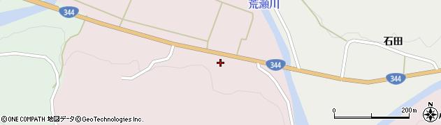 山形県酒田市下青沢山添116周辺の地図