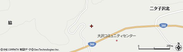 山形県酒田市大蕨下黒沢87周辺の地図