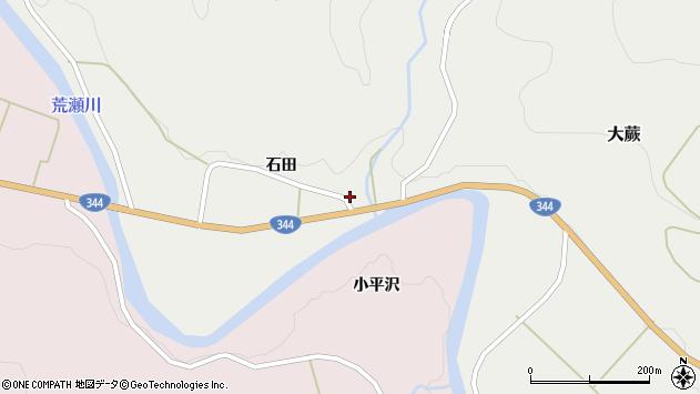 山形県酒田市大蕨石田前57周辺の地図