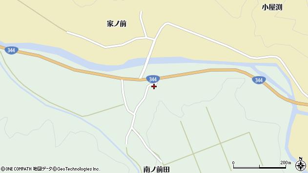 山形県酒田市上青沢南ノ前田7周辺の地図