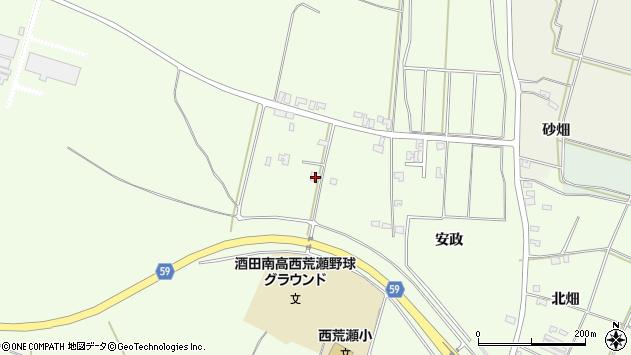 山形県酒田市宮海林内4周辺の地図